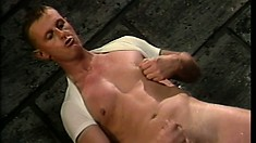 Young gay guys get hardcore during their first ever porno flick